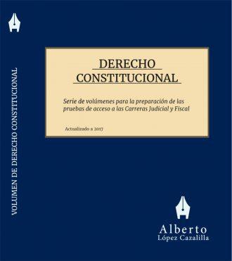 Portada del volumen de Derecho Constitucional