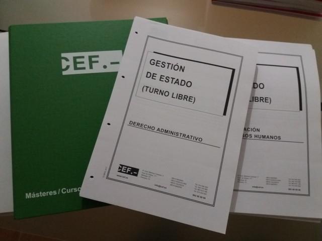 CEF temario judicatura y fiscalía 2018. Oposiciones justicia